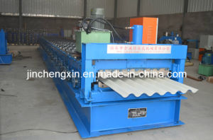 Automatic Galvanized Aluminium Colored Steel Profile Metal Roofing Sheet Making Machine pictures & photos