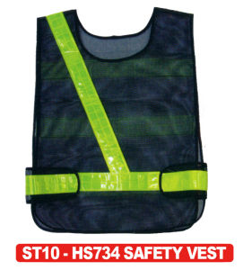 100% Polyester Reflective Vest Hs734 pictures & photos