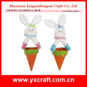 Easter Decoration (ZY13S770-1-2 40CM) Easter Hanging Rabbit Carrot Egg Bag pictures & photos