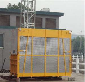 Single Cage Sc100/100 Construction Material Hoist Made in China pictures & photos