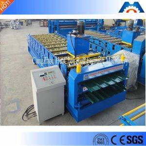 ISO Certificate Trapezoidal Iron Sheet Roof Making Machine