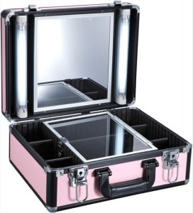 China Makeup Case With Light With Mirror Suitcase F9500k China