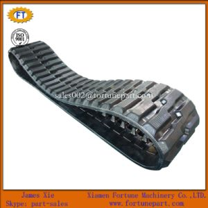 Hitachi Caterpillar Komatsu Mini Excavator Harvest/Tractor/Loader/Agriculture Rubber Track pictures & photos