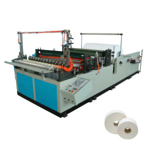 Automatic Slitting and Rewinding Toilet Tissue Machine pictures & photos