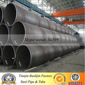 High-Strength SSAW Spiral Welded Steel Pipe pictures & photos