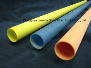 Light Weight FRP Fiberglass Pultruded Pipe/Pole/Tube with Corrosion Resistant