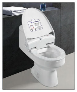 Automatic Toilet Seat with Press Button