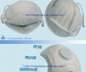 Ffp1/Ffp2 Face Mask with Breath Valve pictures & photos