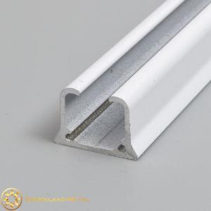 1.0mm Powder Coated White Aluminium Alloy Curtain Track