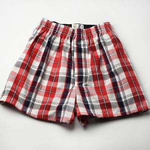 0840754aea72 China Men′s Blue Label Woven Plaid Boxers with Best Prices - China 100%  Cotton Boxer Shorts, Underwear