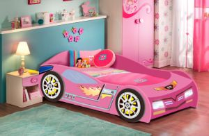 Hot Ing Kids Wooden Race Car Toddler Bed Sports For Children Furniture