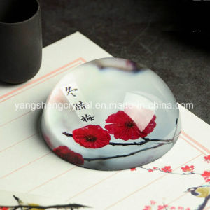 Hot Selling Popular Crystal Blank Glass Paperweight