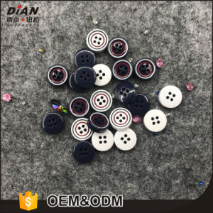 11.5mm Four Hole Polyester Shirt Buttons