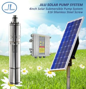 4inch BLDC Solar Screw Water Pump System, Helical Rotor Pump with MPPT Controller