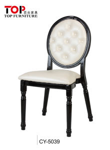 Hotel Classy Aluminum Dining Wedding Party Banquet Chairs (CY-5039B)
