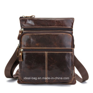 China Hot Crazy Horse Leather Mens