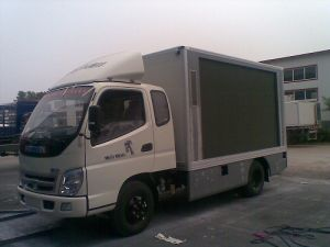 LED Mobile Stage Semitrailer