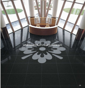 Super Black Polished Porcelain Ceramic Floor Tile From China Manufacturer