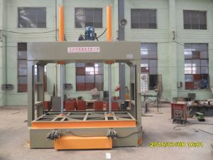 Three Subsection Hydraulic Cold Press (YLJ-50) pictures & photos