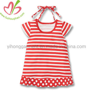 New Summer Baby Girl Cute Stripes Dress for Infants