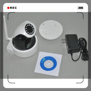Full HD H. 264 PTZ CCTV Security IP Camera ,1.3 Megapixel Camera Cutting Support 720p Video Recording WiFi Mobile Phone View pictures & photos
