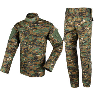 Durable Material Wholesale Bdu Army Military Clothing Bud Set pictures & photos