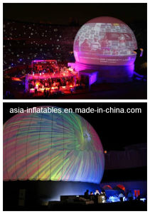 Outdoor Inflatable Projection Dome Tent for Planetarium Laser Shows pictures & photos