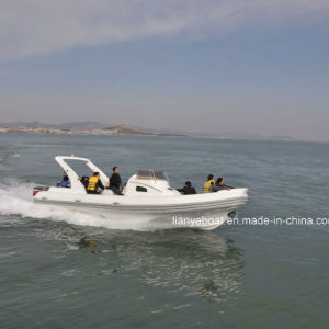 Liya 8.3m China Inflatable Rib Boats Motor Boats for Sale pictures & photos