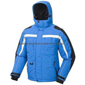 Mens Outdoor Hoody Padded Sports Jacket for Winter pictures & photos