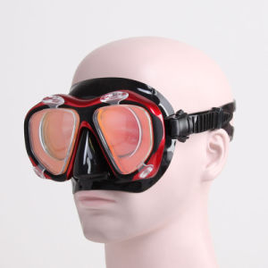 Optical High Quality Silicone Diving Masks (OPT-2600) pictures & photos