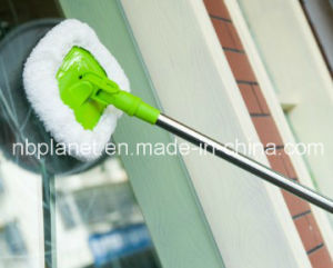 Microfiber Car Cleaning Mop W/ Stainless Steel Telescopic Handle pictures & photos