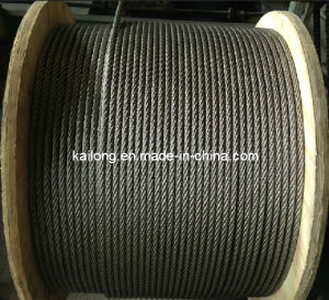AISI 316 7*19-12.0mm Stainless Steel Wire Rope pictures & photos