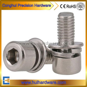 Hex Socket Cap Head Combination Screws, Assembly Screws pictures & photos