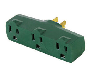 UL Approved South America Extension Plug Adapter pictures & photos