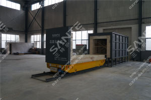 1400c Industrial Car Bottom Tempering Furnace pictures & photos