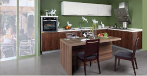 Panel Kitchen Furniture Melamine Kitchen Cabinet (zg-016) pictures & photos