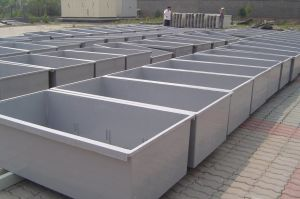 FRP GRP Fiberglass Fish Tanks Aquaculture pictures & photos