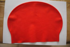 Latex Swim Cap with Customer′s Brand pictures & photos