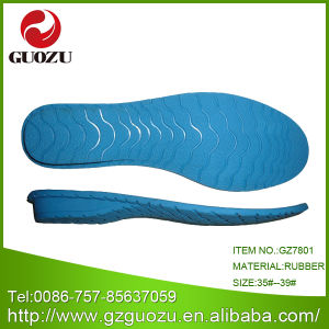 e78b76eaf771 China Rubber Blue Shoe Sole for Shoe Factory