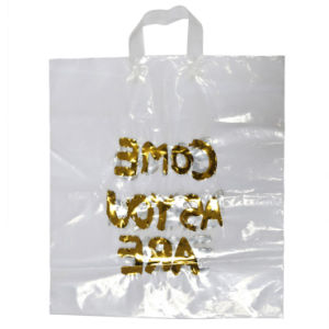 Hot Stamping Carrier Bags for Promotional Gift (FLL-8383)