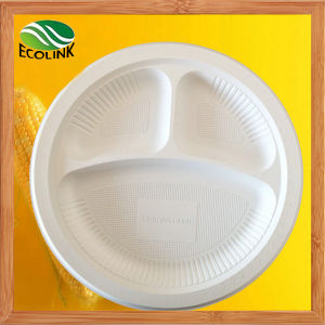 9 Inch Disposable Biodegradable Plate pictures & photos