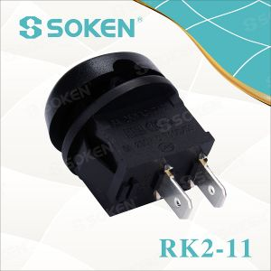 Rk2-11 Defond Kema Magnifier Rocker Switch 6A 250VAC T85 pictures & photos