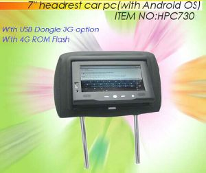 "7"" Headrest Android PC with WiFi, 3G Function pictures & photos"
