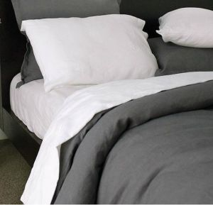 Stonewashed 100% Linen Bedding Collection