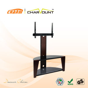 Good Design Wooden New Model TV Stand Has TV Bracket (CT-FTVS-Q302) pictures & photos