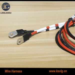 garden tool wire harness wicking assembly wiring harness