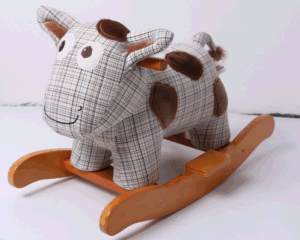 New Design Factory Supply Rocking Animal-Cow Rocker pictures & photos