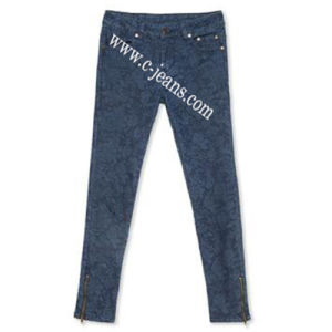 (14128) Womens New Fashion Jeans New Denim Jeans