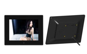 OEM USB SD Card LCD Video Player 16: 9 Large Size 10 Inch Digital Photo Frame pictures & photos