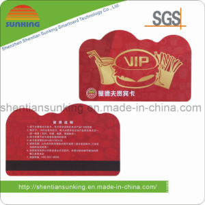 PVC/Plastic Personalized Special Size Card (SK-PC08)